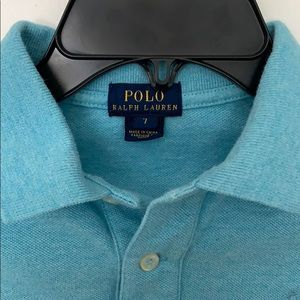 Boys Size 7 POLO Ralph Lauren polo shirt